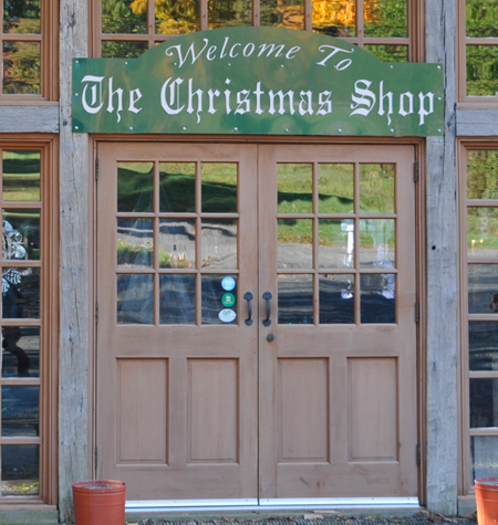 Image: Westlake Tree Farms Christmas Shop at the Barn